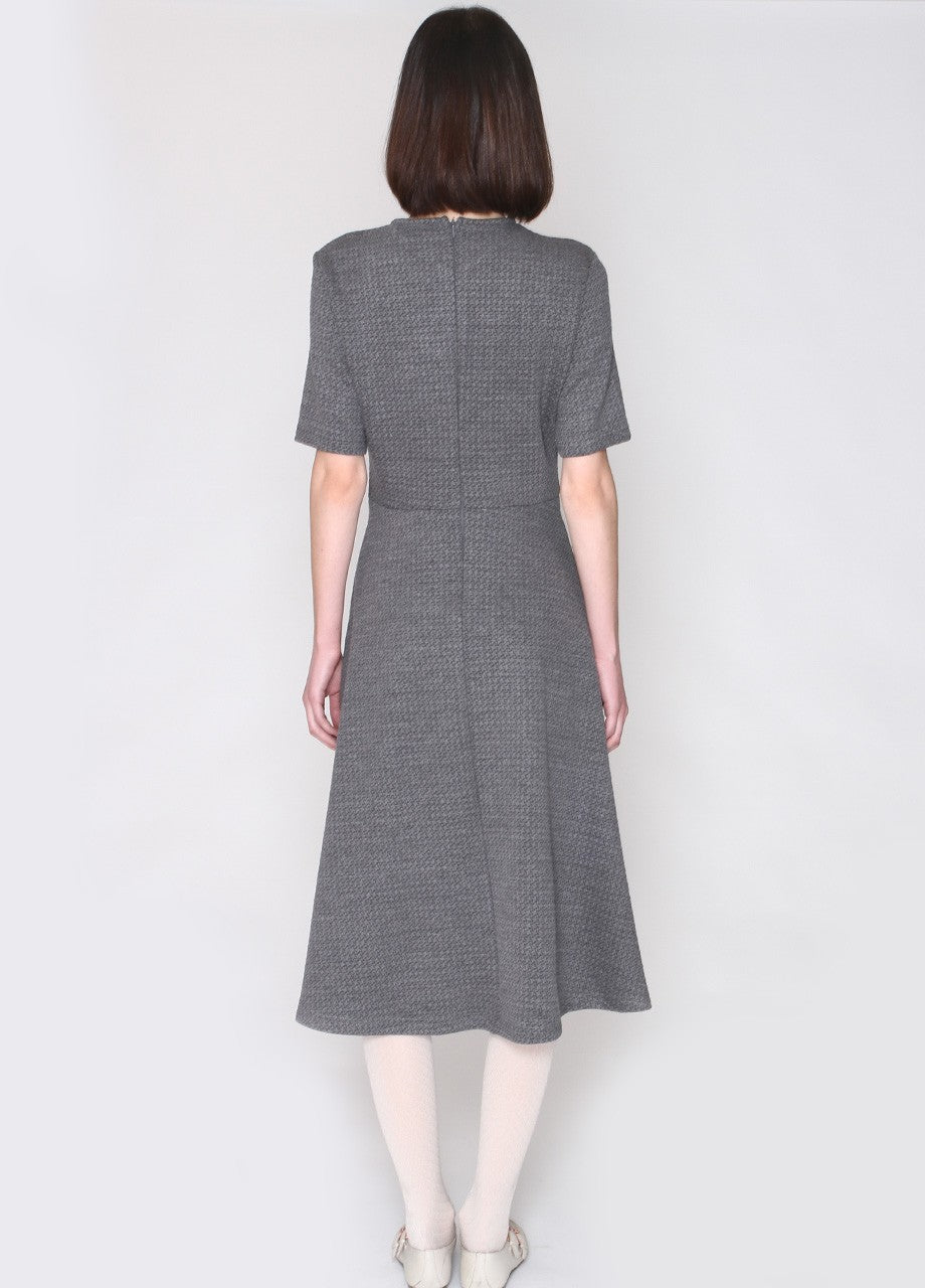 Sandra Dress Grey