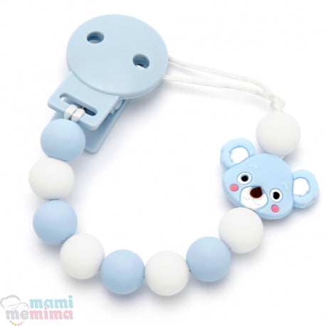 Blue Koala Silicone Teether Pacifier