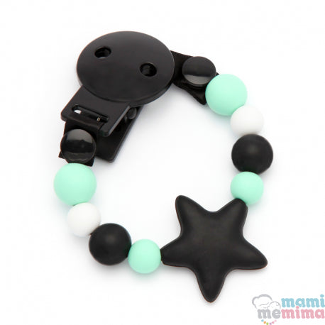Star Rebel Baby Silicone Teether Pacifier