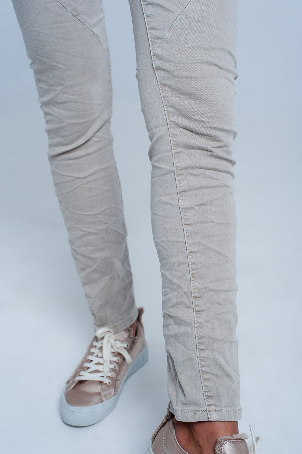 Original Boyfriend Jeans In Beige
