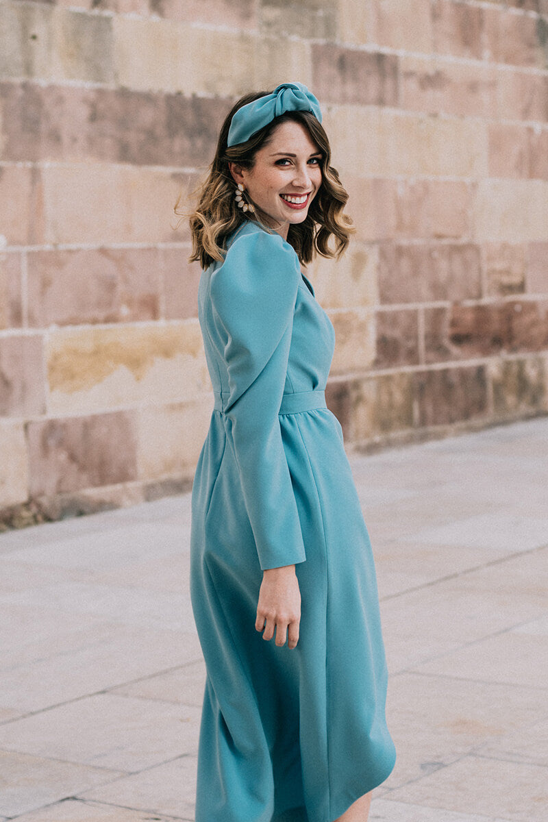 Mint Abby Dress