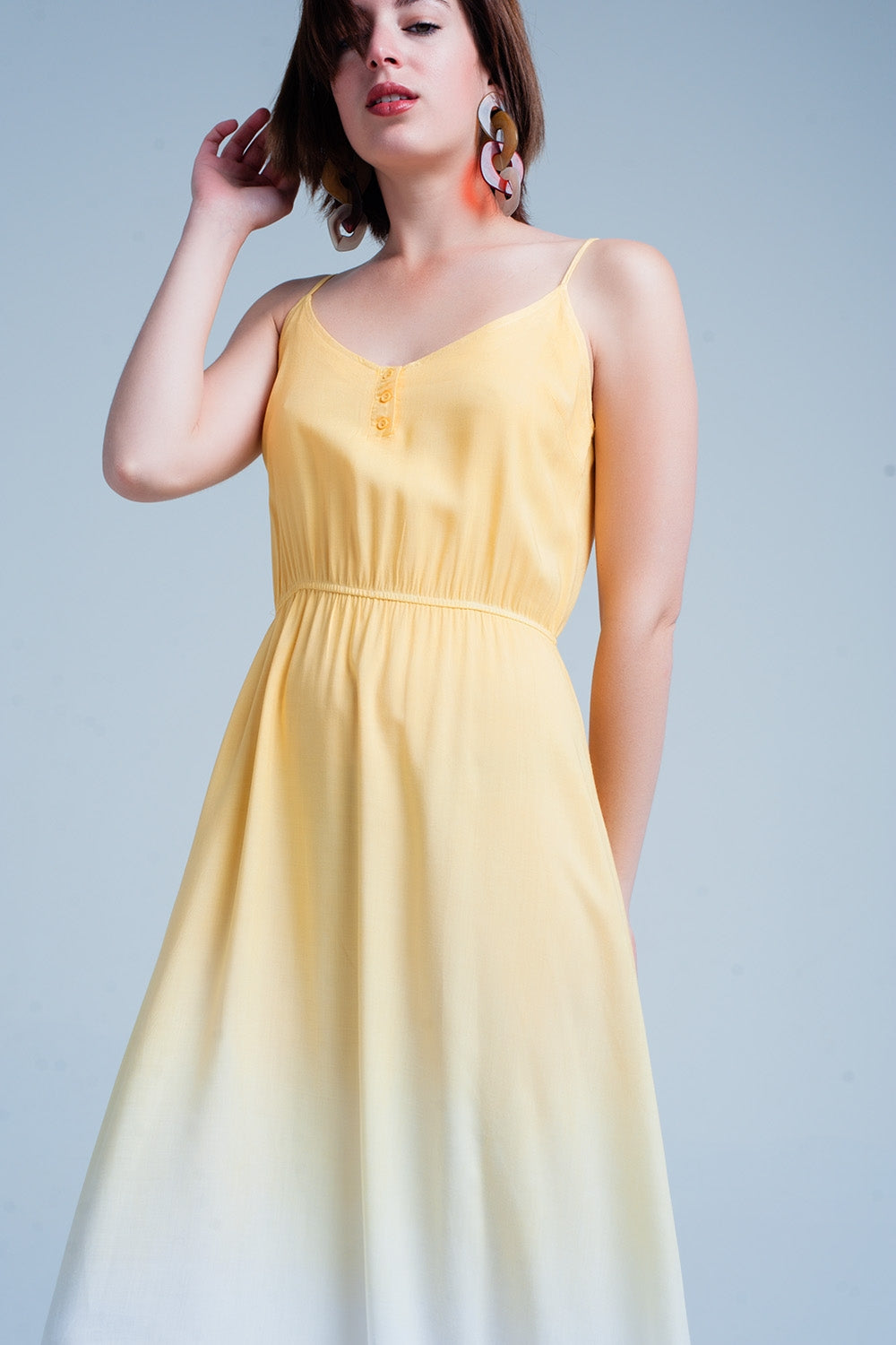 Yellow Ombre Dress