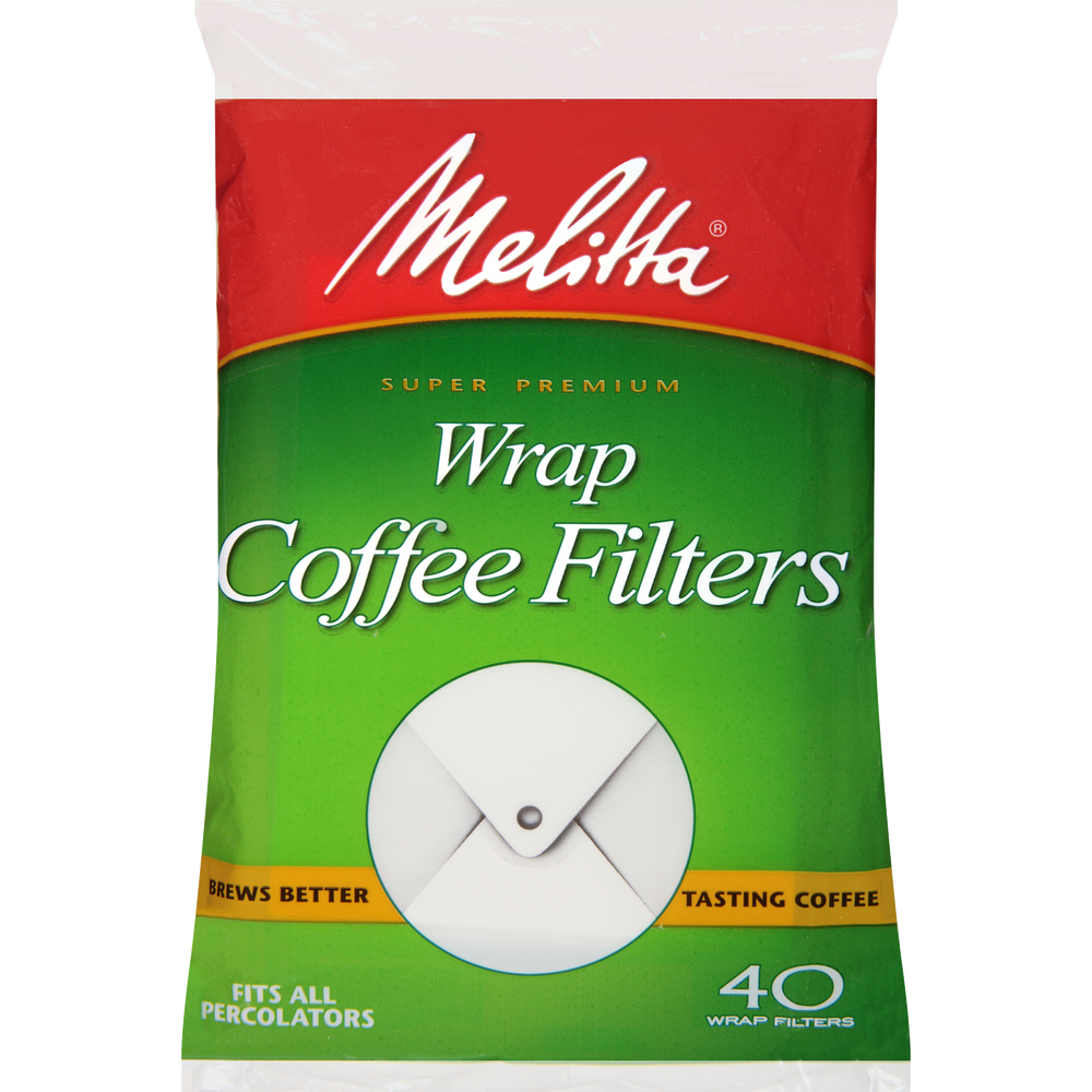 Wrap Filter Paper White - 40 Count