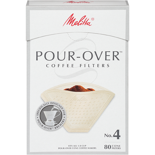 Melitta No. 4 Pour-Over Coffee Filters hover