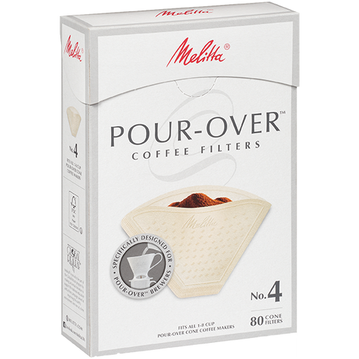 Melitta No. 4 Pour-Over Coffee Filters main