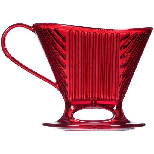 Signature Series 1-Cup Pour-Over Coffeemaker - Tritan™, Translucent Red main