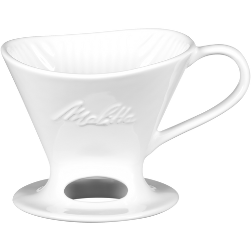 Signature Series 1-Cup Pour-Over Coffeemaker - Porcelain, White hover