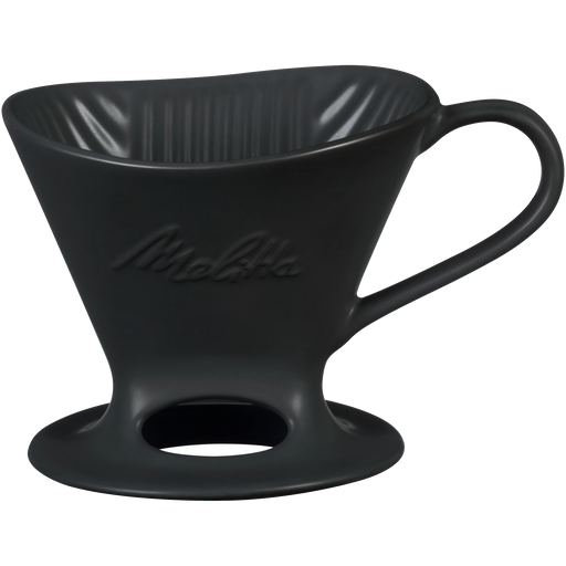 Signature Series 1-Cup Pour-Over Coffeemaker - Porcelain, Matte Black hover