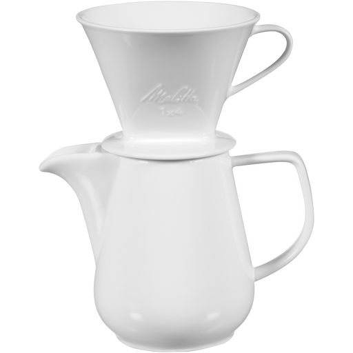 Porcelain Pour-Over Coffeemaker & Carafe Set (36oz) main