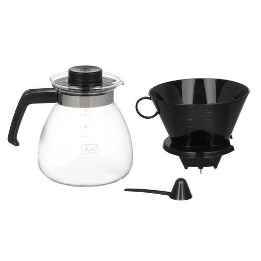 Pour-Over Coffeemaker & Glass Carafe Set (52oz) main