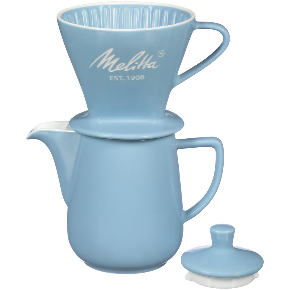 Heritage Series Porcelain Pour-Over™ Coffeemaker - Pastel Blue