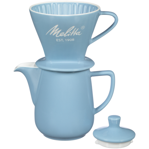 Heritage Series Porcelain Pour-Over™ Coffeemaker - Pastel Blue hover