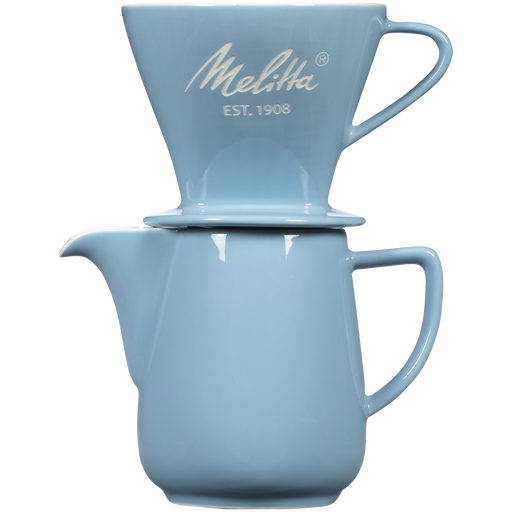 Heritage Series Porcelain Pour-Over™ Coffeemaker - Pastel Blue main
