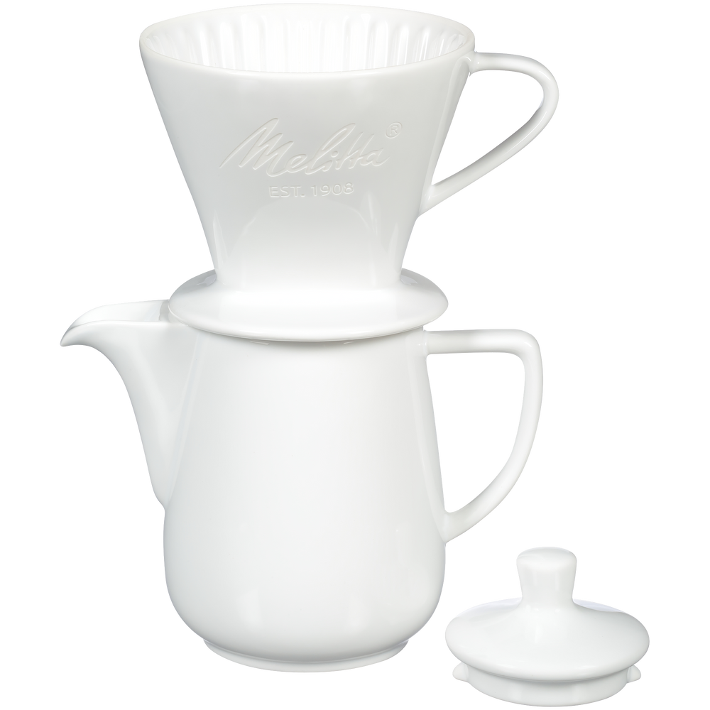 Heritage Series Porcelain Pour-Over™ Coffeemaker - White