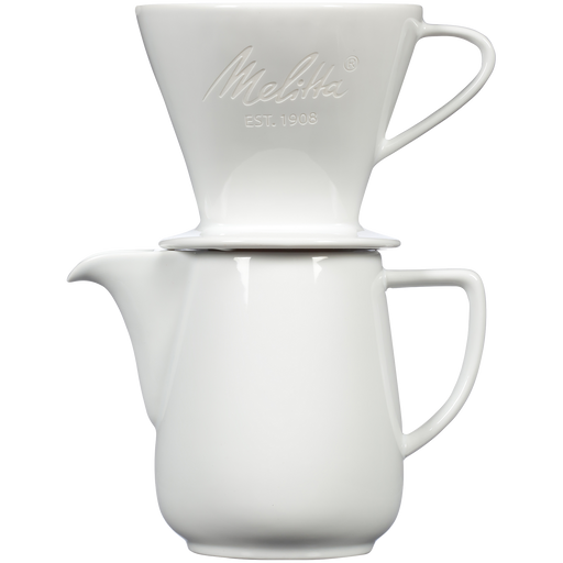 Heritage Series Porcelain Pour-Over™ Coffeemaker - White main