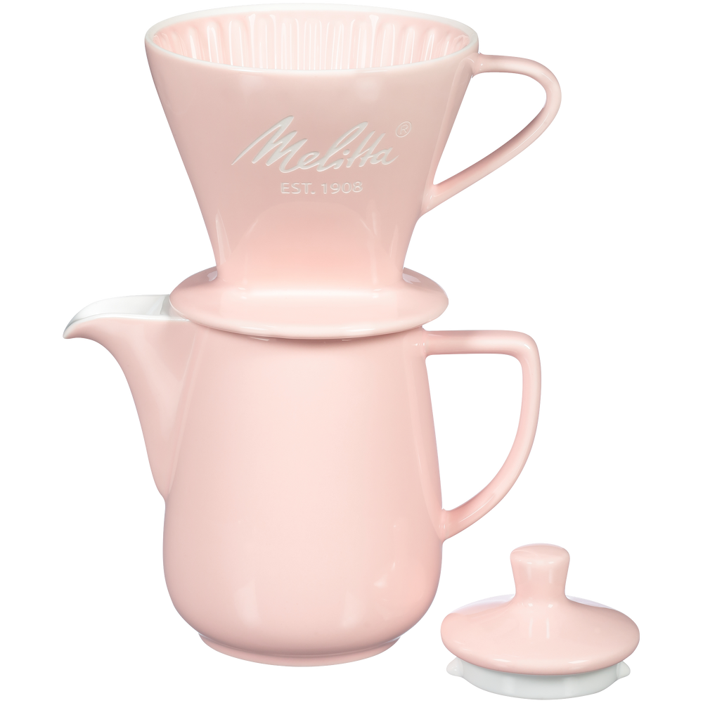 Heritage Series Porcelain Pour-Over™ Coffeemaker - Pastel Pink