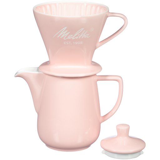 Heritage Series Porcelain Pour-Over™ Coffeemaker - Pastel Pink hover