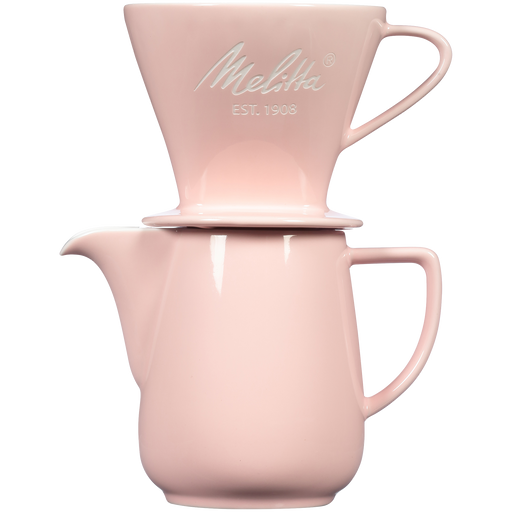 Heritage Series Porcelain Pour-Over™ Coffeemaker - Pastel Pink main