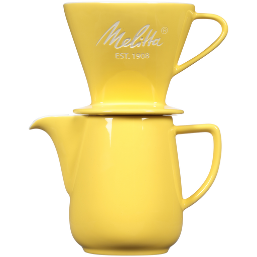 Heritage Series Porcelain Pour-Over™ Coffeemaker - Pastel Yellow main