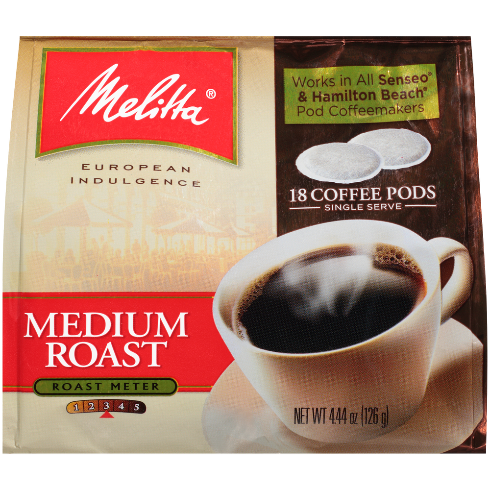 Medium Roast Soft Pods (18ct)
