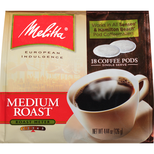 Medium Roast Soft Pods - 18ct main