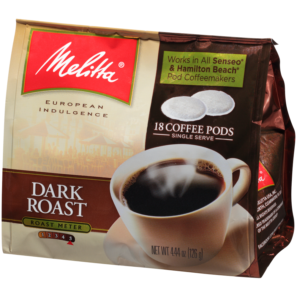 Dark Roast Soft Pods (18ct)