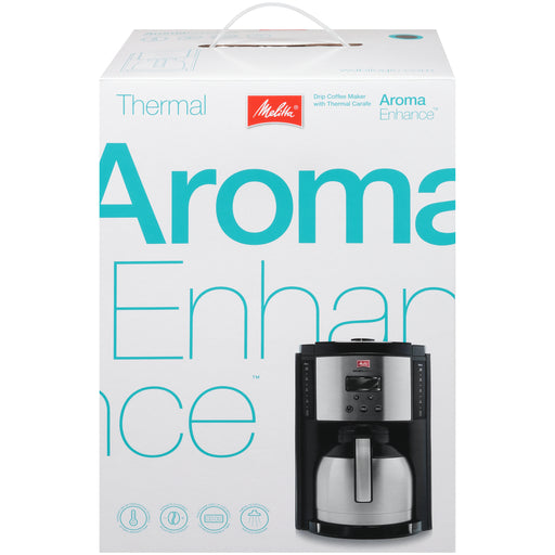 10-Cup Aroma Enhance Thermal Black main