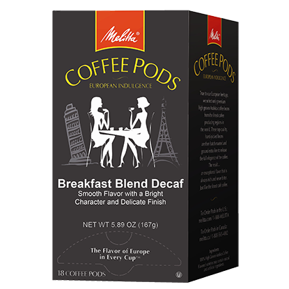 Breakfast Blend Decaf Coffee Pods - 18ct