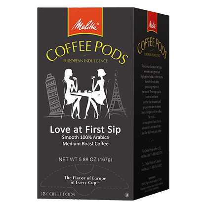 Love At First Sip Coffee Pods - 18ct