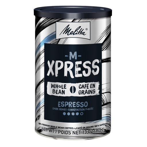 M-Xpress Dark Roast Whole Bean Coffee 13oz Can hover