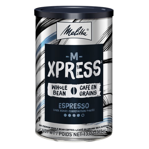 M-Xpress Dark Roast Whole Bean Coffee 13oz Can