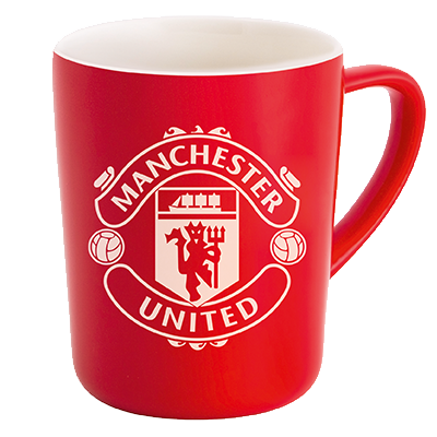 Manchester United Edition Porcelain Mug - Red
