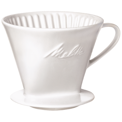 Porcelain Pour-Over Coffeemaker - Large hover