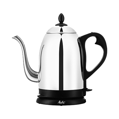 Melitta Pour Easy Deluxe 40oz Stainless Steel Pour-Over Goose Neck Kettle