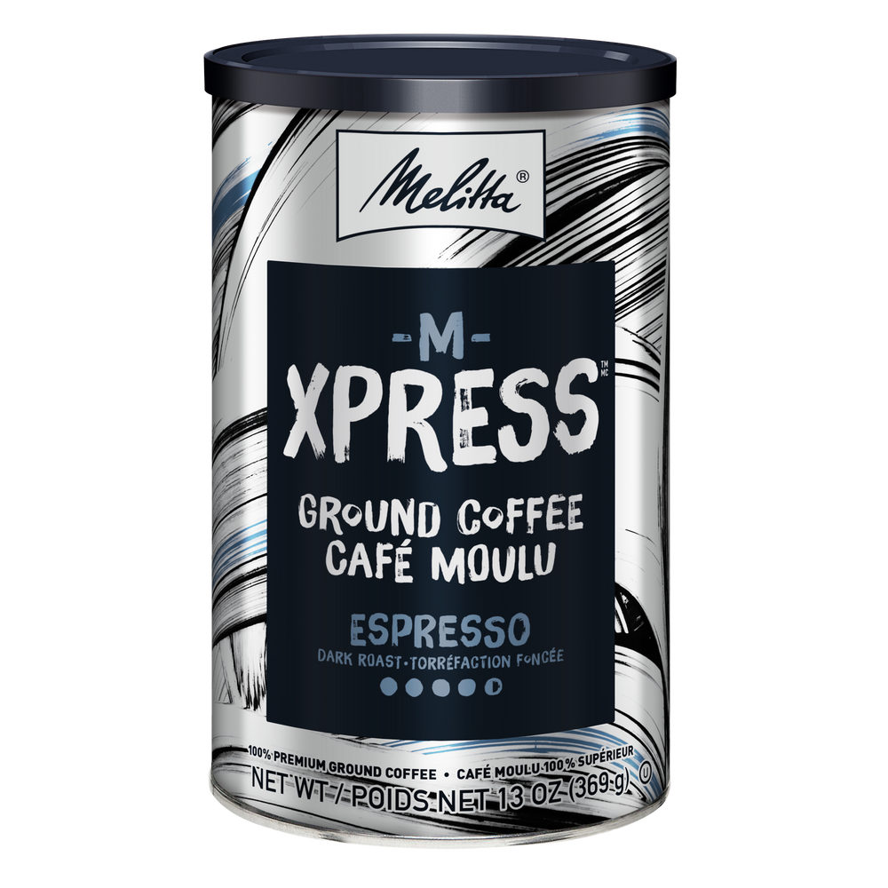 M-Xpress Dark Roast Ground Coffee 13oz Can