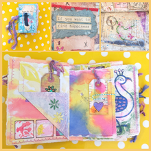 Introduction to Intuitive Art Journaling Workshop with artist Ali Mauger: Saturday 3rd July 2021 10am - 4pm