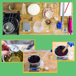 Craft Workshop Sunday 23rd May 2021: Introduction to Container Candle Making (beginners)