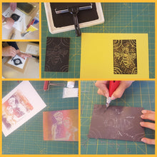 Craft Workshop Monday 14th June 2021:  Lino cutting & printing workshop: make a lino cut picture