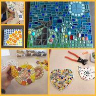 Craft Workshop Sunday 18th July 2021: Introduction to making mosaics