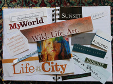 Intuitive Action or Vision Boards for Creative People (Online Individual Session)