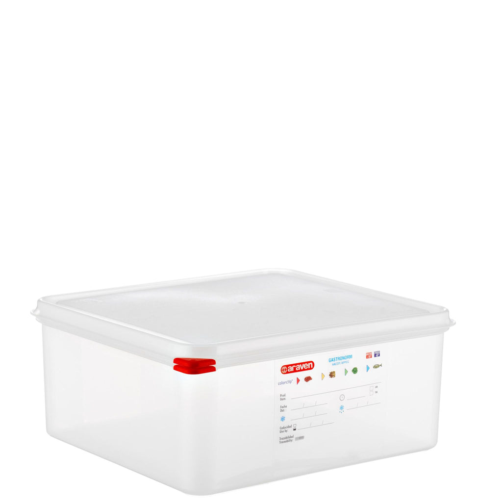 Araven 2/3 Airtight Gastronorm Container with Lid Polypropylene