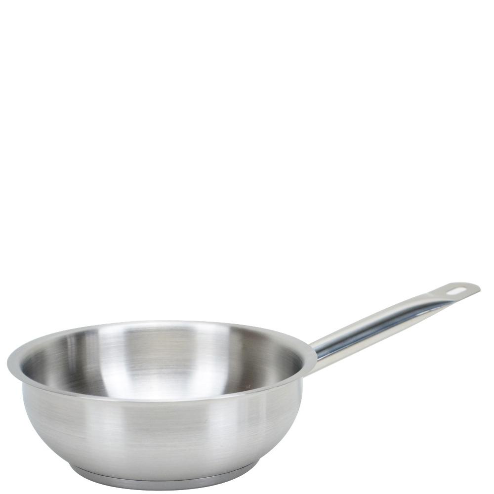 Professional Stainless Steel Conical Saute Pan