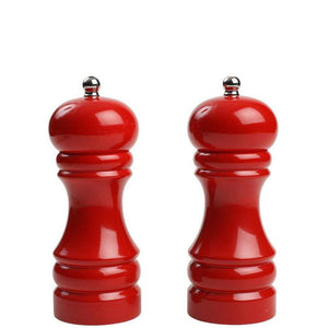 T&G Capstan 150mm Salt & Pepper Mill Red Gloss Finish