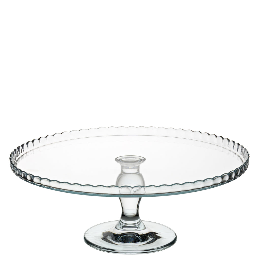 Utopia Patisserie Upturn Footed Plate