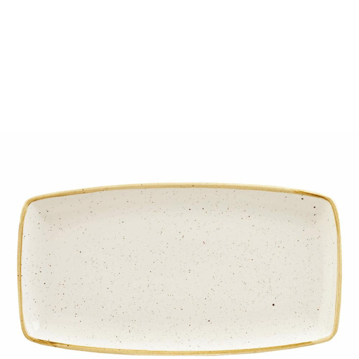 Churchill Stonecast Barley White Oblong Plate
