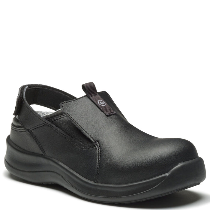 WearerTech Black SafetyLite Clog