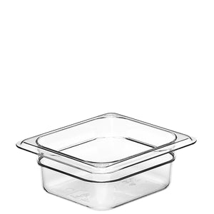 Cambro Camwear 1/6 Gastronorm Pans Polycarbonate