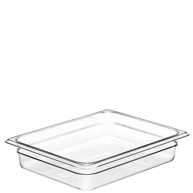 Cambro Camwear 1/2 Gastronorm Pans Polycarbonate