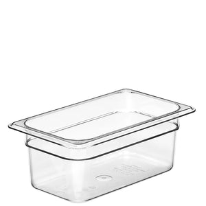 Cambro Camwear 1/4 Gastronorm Pans Polycarbonate