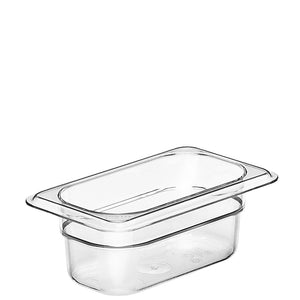 Cambro Camwear 1/9 Gastronorm Pans Polycarbonate